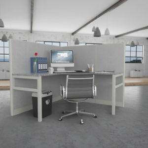 One Man Office Workstation